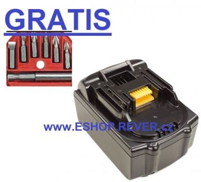 Image de akumulátor MAKITA BDF 450 451 451Z BDF452 náhradni baterie AKCE