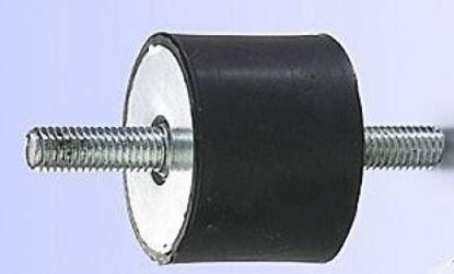 Picture of silentblok 15x15 S17M4x13 pro vibrační deska pěch stavební stroj