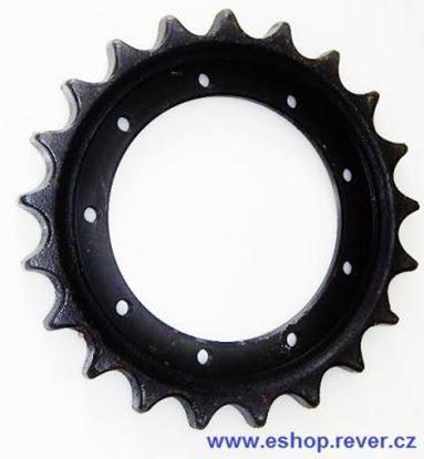 Image de ozubené kolo pro typ Komatsu PC12R-8 hnací kolo