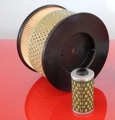 Image de filtre pour Bomag BPR 60/65 D BPR60/65 with Hatz engine 1B40 filtre à air filtre à carburant / remplace la pièce de rechange d'origine SET1