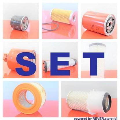 Picture of maintenance service filter kit set for Cat Caterpillar 305.5 D CR Set1 also possible individually