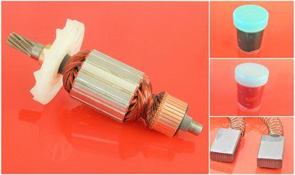Bild von Anker Rotor Hitachi H 65 SB H65SB H65SB H65 SB ersetzt original (ekvivalent) Wartungssatz Reparatursatz Service Kit hohe Qualität Fett und Kohlebürsten GRATIS