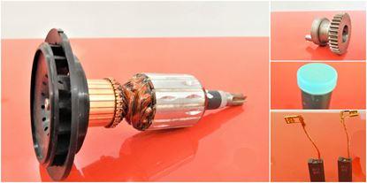 Image de ancre rotor équipement Z35 Bosch GBH 5 DCE GBH5DCE GBH5 remplacer l'origine 1614010186 1616337004 / kit de service de maintenance de réparation haute qualité / balais de charbon et graisse gratuit