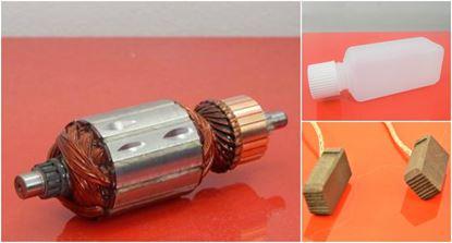 Picture of armature rotor HILTI TE60 ATC TE60-ATC TE 60 replace origin / maintenance repair service kit high quality / carbon brushes and oil FREE + 2 bearings
