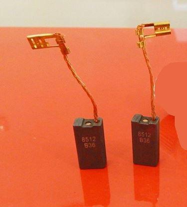 Picture of Uhlíky Bosch GSH5E GBH7DE GBH5-40DE GBH7-45DE GBH7-46DE kohlebürsten carbon brushes