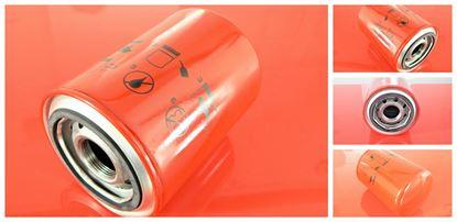 Obrázek hydraulický filtr zpětný filtr pro Airman minibagr AX 16-3 motor Isuzu 3YB1 ab 2003 filter filtre