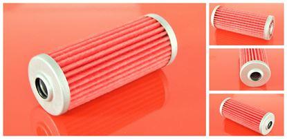 Obrázek palivový filtr do Komatsu PC 15R-8 motor Komatsu 3D68E filter filtre