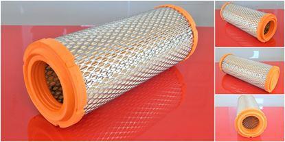 Image de vzduchový filtr do Bobcat minibagr 425 motor Kubota V1505M filter filtre