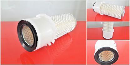 Image de vzduchový filtr do Bobcat nakladač 543 od serie 13235 motor Kubota filter filtre