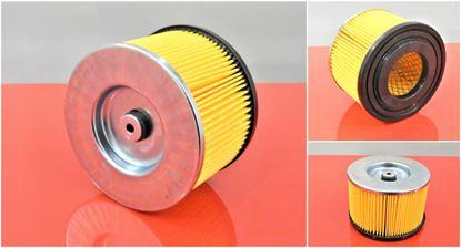 Obrázek vzduchový filtr do BOMAG BPR 25/45D-3 motor Hatz 1B20 nahradí original BPR25/45 D3 BPR 25/45 D-3 BPR25/40 BPR25/45D-3 BPT 25/50D BPR30/38D-2