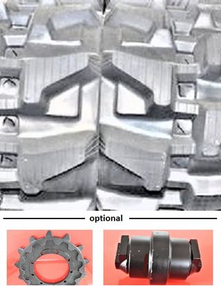 Image de chenille en caoutchouc pour Case TR320