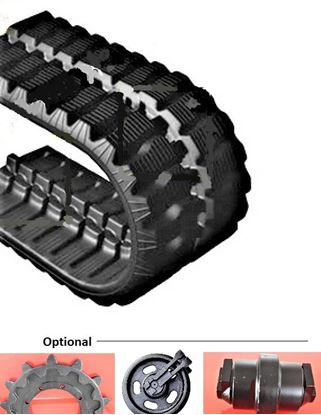 Picture of Rubber track 300x109x41W / 300x41x109