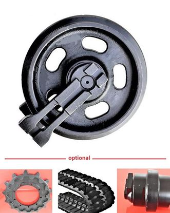 Image de roue folle Idler pour JCB JS220 JS210 JS200 JS180 JS160 QS