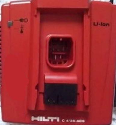 Bild von Hilti nabíječka C 4/36-ACS Li-Ion Li použitá Lithium TOP STAVU C 4/36 ACS LI-ION pro SF 144 SID SIW SF 14