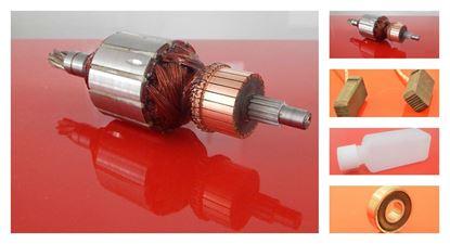 Image de ancre rotor HILTI TE 75 TE75 TE 74 TE74 remplacer l'origine 206250/3 / kit de service de maintenance de réparation haute qualité / balais de charbon et huile gratuit