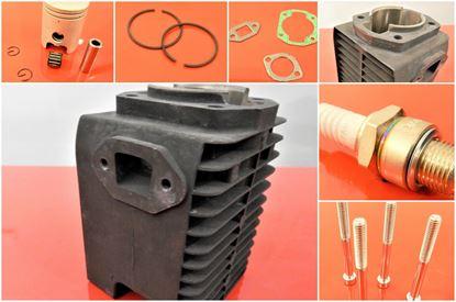 Image de Joints de piston de cylindre pour Wacker Neuson BS500 avec moteur WM80 - version convertisseur catalytique