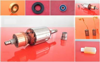 Picture of set armature rotor for HILTI TE 56 60 TE56 TE60 new type replace origin / maintenance repair service kit high quality / carbon brushes and oil FREE bearings v-seal