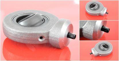 Bild von hydraulická kloubová hlavice WS17C pro průměr klikové hřídele 17mm nd pro stavební stroj Gelenkkopf hydraulics joint head paliers articulés cojinetes articulados