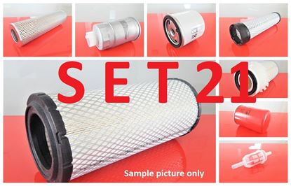 Bild von Filtersatz Filterset für Ahlmann AL100 mit Motor Deutz F4L2011 Set21