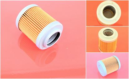 Bild von před- řídící filtr do Hitachi minibagr EX 12 motor Isuzu 3KC1 filter filtre
