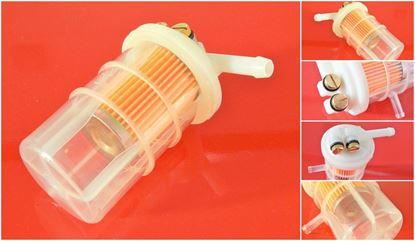 Obrázek palivový filtr do Volvo EC 30 EC30 motor Mitsubishi filter filtre kraftstoff fuel suP