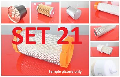Image de Jeu de filtres pour Caterpillar CAT 213 from série 3ZC1 moteur Perkins Set21