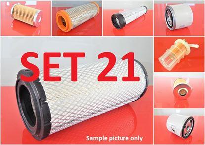 Obrázek sada filtrů pro Komatsu D37E-5 s motorem Komatsu S4D102E náhradní Set21