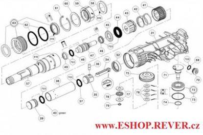 Imagen de HILTI TE 500 výkres schema schnitt zeichnung spare part list
