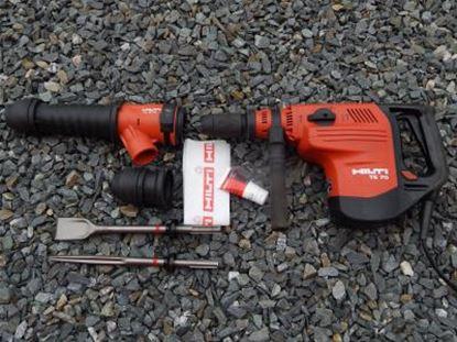 Bild von HILTI TE 70-AVR TE70AVR kombinované kladivo 8kg použité v TOP stavu kufr příslušenství