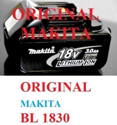 Imagen de akumulátor baterie MAKITA 194204-5 BL1815 BL1830 Original AKCE