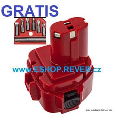 Obrázek akumulátor MAKITA 6317 D DWAE DWDE DWDRE nahradí original baterie AKCE