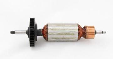 Изображение ротор якоря Black Decker KG100 1000W KG85 850W DW824 KG 85 100 DW 824 заменить происхождение / обслуживание ремонт сервисный комплект высокого качества / угольные щетки и смазка БЕСПЛАТНО