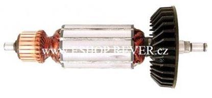 Bild von Anker Rotor Makita 9524 9525 NB 540W ersetzt original 517303-8 (ekvivalent) Wartungssatz Reparatursatz Service Kit hohe Qualität Fett und Kohlebürsten GRATIS