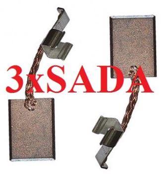 Obrázek Makita uhlíky CB440 CB 436 CB 440 3x10mm nahradí 194427-5 3x
