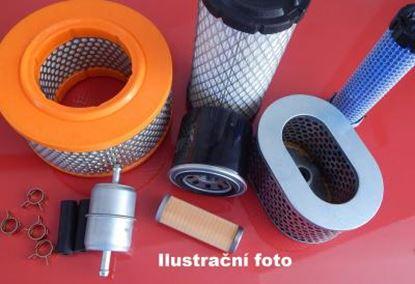 Bild von vzduchový filtr-patrona pro Kubota minibagr KX 161-3R2 motor Kubota V 2203MEBH2