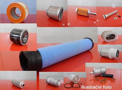 Obrázek kabinový vzduchový filtr do Bobcat Knicklader AL 275 motor Kubota V 2403-M-DI filter filtre