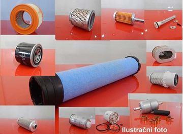 Obrázek palivový filtr do Yuchai YC 35-8 motor Kubota V2403-MDI filter filtre