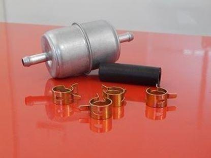 Obrázek palivový filtr pro Bomag BW 80AD motor Hatz 1D80 válec BW 80 AD BW80 AD potrubní sada + hadičky objímky fuel filter kraftstofffilter