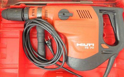 Bild von HILTI TE70 TE 70 TE 70AVR ähnl. TE70ATC-AVR TE 70 ATC 70ATC TOP Bohrhammer Kombihammer 8kg - HILTI ist einer der besten Bohrhämmer auf dem Markt gebraucht Koffer Zubehör Meissel Garantie