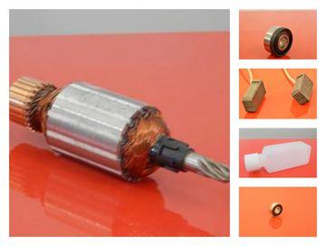 Изображение арматура подходит HILTI TE505 TE-505 роторное масло угольные щетки 2шт подшипники / ремонтный комплект / комплект для технического обслуживания