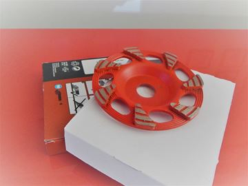 Picture of 1pc grinding head DG-CW 125/5 CR-SP 125mm x 22,2mm FOR Hilti angle grinder NEW