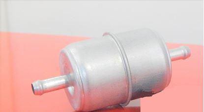 Image de palivový potrubní filtr do Kubota KX41 KX 41 motor D 1105BH filter filtre