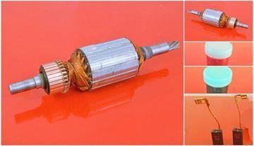 Изображение ротор арматуры Berner BBH8-45CCE заменить происхождение / техническое обслуживание ремонтный комплект высокое качество / угольные щетки и смазки БЕСПЛАТНО