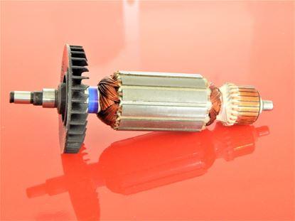 Bild von Anker Rotor PREMIUM Makita 9523 9524 9525 NB ersetzt original 517303-0 (ekvivalent) Wartungssatz Reparatursatz Service Kit hohe Qualität Fett und Kohlebürsten GRATIS