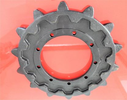 Image de pignon turas roue motrice pour Hitachi ZAXIS ZX130