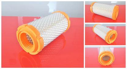 Obrázek vzduchový filtr do Terex TC 15 motor Mitsubishi L3E filter filtre