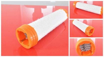 Obrázek vzduchový filtr patrona do Terex TC 15 motor Mitsubishi L3E filter filtre