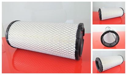 Obrázek vzduchový filtr do Caterpillar 247 B (DELTA nakladač) ver1 filter filtre