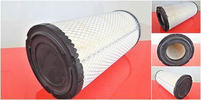Obrázek vzduchový filtr do Ammann válec AC 70 od serie 705101 filter filtre