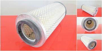 Obrázek vzduchový filtr do Ammann vibrační válec DTV 213 motor Deutz filter filtre